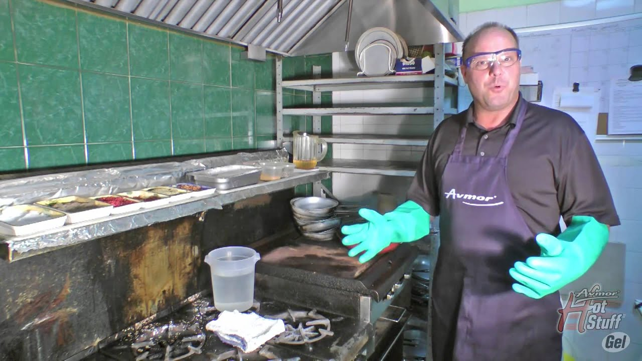 How To Remove Grease From Commercial Kitchen