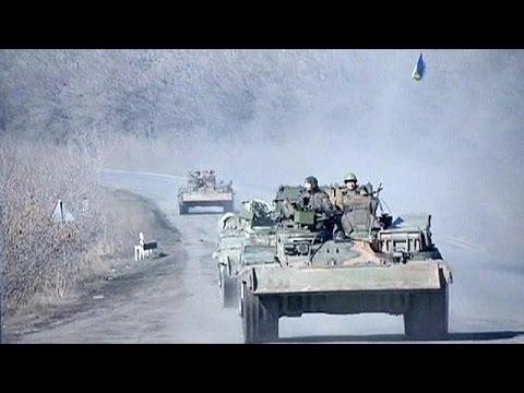 كييف تشترط سحب أسلحتها الثقيلة بوقف هجمات الانفصاليين
