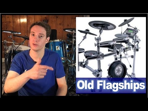 Are Old Flagship Electronic Drumsets Still Worth Buying?