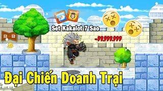 Ngọc Rồng Online - Thử Cầm Xayda Full Set Kakarot 7s Đi Doanh Trại Và Cái Kết ... Bất Ngờ