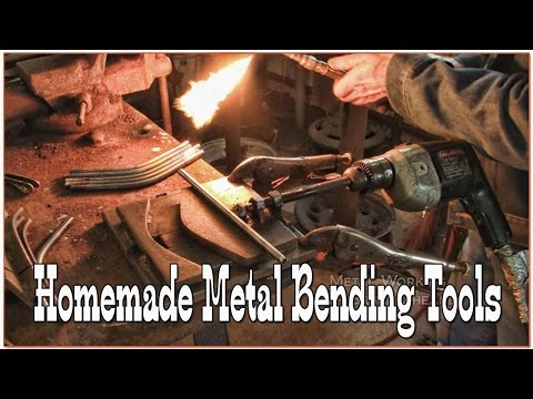 Homemade metal bending tools