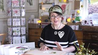 How to paint a Water Colour Christmas Card with Billy Showell