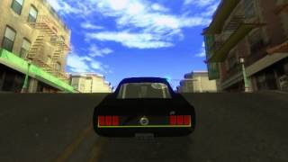 GTA SA Ford Mustang RTR-X and Sound Mod.avi