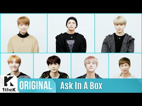 ASK IN A BOX: BTS(방탄소년단) 'Blood Sweat & Tears(피 땀 눈물)'