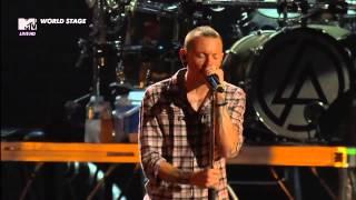 Download Lagu Linkin Park - Somewhere I Belong MTV World Stage HD (Monterrey 2012) Gratis STAFABAND