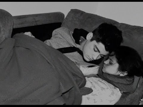 cute zayn malik n selena sleeping.