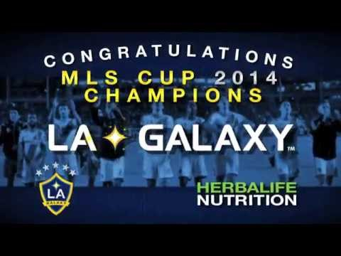 LA Galaxy Win The MLS Cup 2014 – Congratulations From Herbalife!