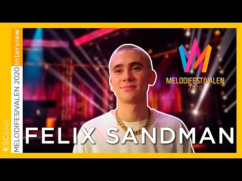 Melodifestivalen 2020: Interview with Felix Sandman (Eurovision 2020 Sweden)