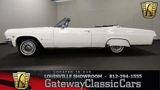 1965 Chevrolet Impala Convertible -  Louisville Showroom - Stock # 1503