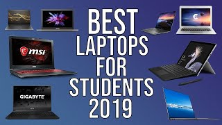 TOP 10 LAPTOPS FOR STUDENTS IN 2019 | BEST STUDENT LAPTOPS 2019
