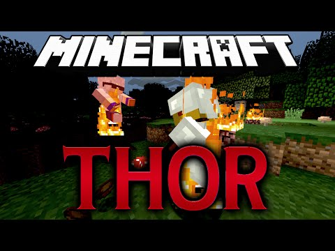 MCPVP.com   Review #1 Thor Kit   Minecraft Hunger Games