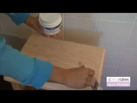 peinture blanc pastel effet c rus les d coratives sur youtube. Black Bedroom Furniture Sets. Home Design Ideas