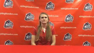 NJIT WVB Post Game vs. Iona  NJIT 3, Iona 2 (Final)