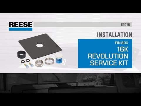 Installation: 86016 Reese® 16K Revolution Service Kit