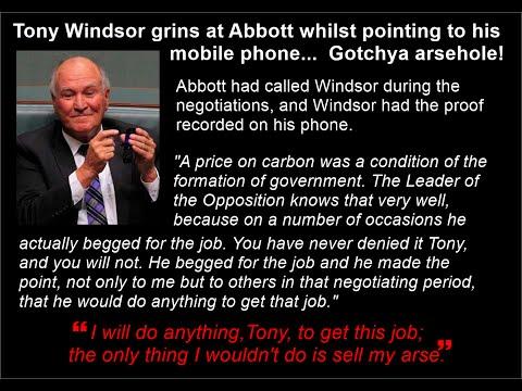 Tony Abbott Sell My Arse