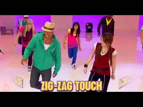 Miley Cyrus - How To Do The Hoedown Throwdown (dance And Song) video