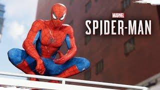 SPIDER-MAN PS4 - O Início de Gameplay, em Português PT-BR!