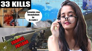 Dont force me to take M24 in pubg | 33 KILLS | Lets Try GameXpro style  BindassKAVYA