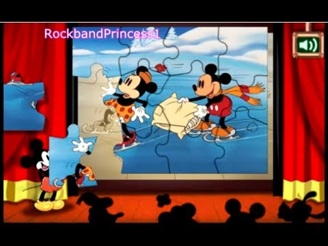 Mickey Mouse Clubhouse Game - Jigsaw Puzzle Game - Mickey Mouse Online Games