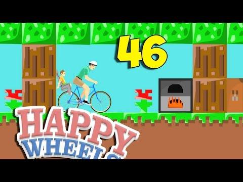 ТАИНСТВЕННЫЙ ЛЕС - Happy Wheels 46 (Карты Minecraft)