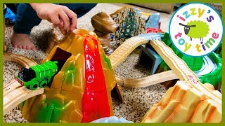 Thomas and Friends Light and Sound Volcano Mountain! Fun Toy Trains for Kids!