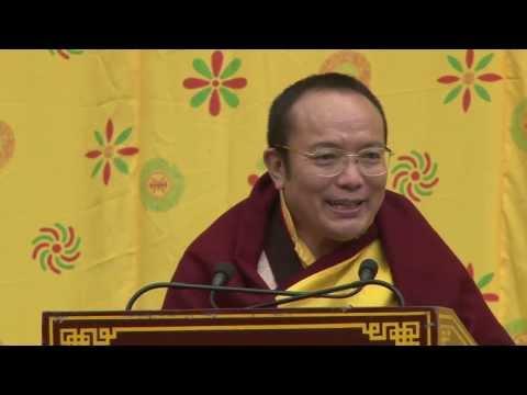 Sikyong Dr Lobsang Sangay's visit to Palpung Sherabling Monastery, Bir