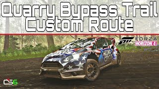 Forza Horizon 4 - Quarry Bypass Trail Custom Route - GRC Fiesta
