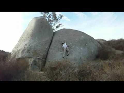 Painted Boulder - Santee Boulders
