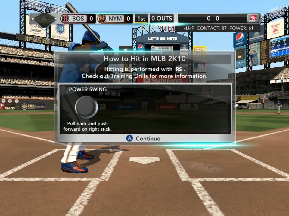 Mlb 2k10 Pc Gameplay Maxed Out Settings Hd Youtube