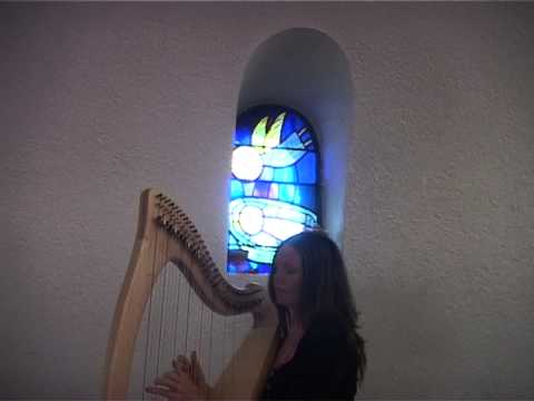 Katy Graham of the Causeway Coast playing 'The Coolin' on the Harp at the Croi -Corrymeela, County Antrim. For more information visit http://irishharpandpian...