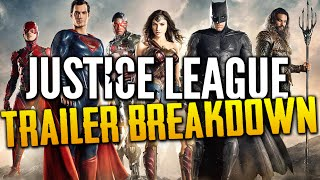 Justice League | Trailer Reaction & In-Depth Breakdown
