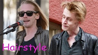 Macaulay culkin hairstyle (2018)