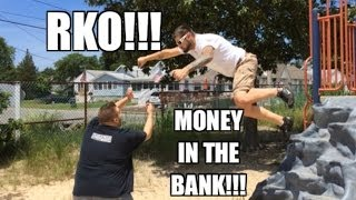 Grim's Toy Show ep 890: Money in the Bank match RKO!! WWE mattel wrestling figures collections