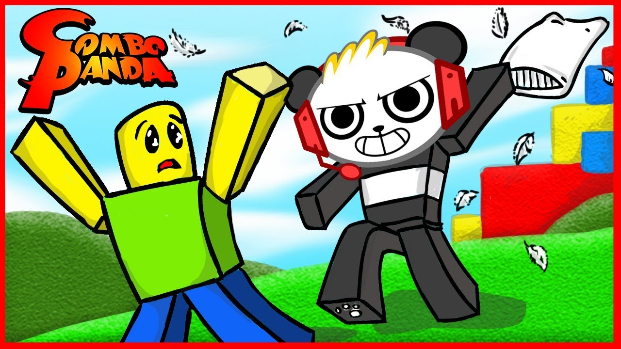 ROBLOX Pillow Fight! Let's Play with Combo Panda