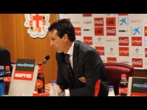 Unai Emery (Sevilla FC) tras ganar en Almería