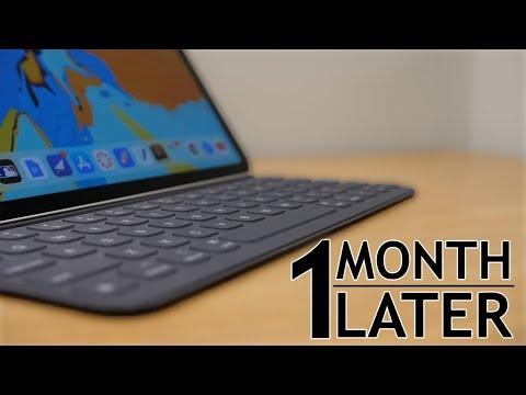 iPad Pro Keyboard Folio: One month later