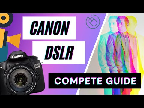 Canon T3i (600D) Settings & Functions Overview -