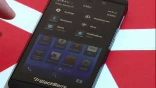 Full BlackBerry 10 Walk Through!