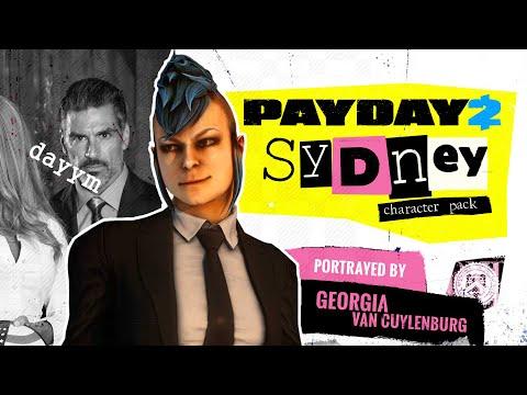 [PAYDAY 2] Sydney Character Pack - Обзор персонажа и прилагающегося