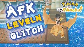 AFK LEVELN GLITCH! #01 Pokemon Let's Go Pikachu & Evoli - Tipps & Tricks!