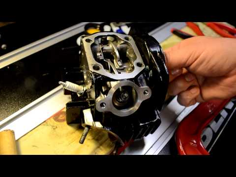 Valve Replacement on Lifan Pit Bike Motor - Part 2. Re-assembly