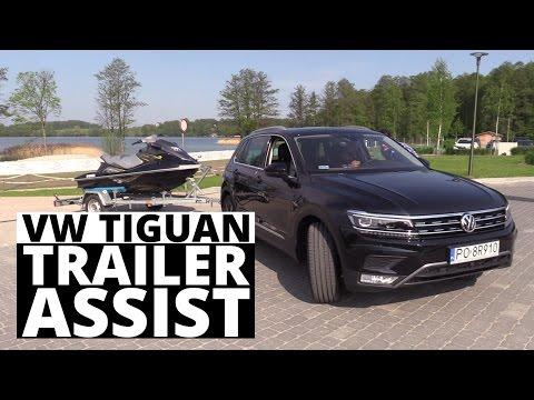 Trailer Assist w VW Tiguan - parkowanie z przyczepą (wersja skrócona)