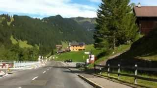 Close to Triesenberg, Liechtenstein on the way to Vaduz