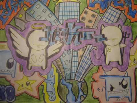 GRAFFITI EN PAPEL----nekrONE! ARTE DE MANOS