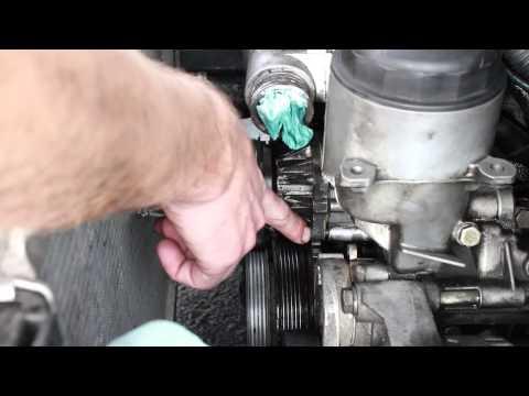 Water Pump Install BMW 328i (1998. 3 series. e36. M52)