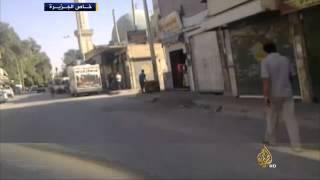 خلو شوارع مدينة الرقة من مقاتلي تنظيم الدولة