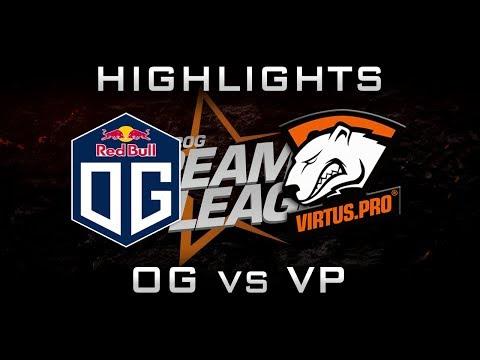 OG vs VP DreamLeague 2017 Major Highlights Dota 2