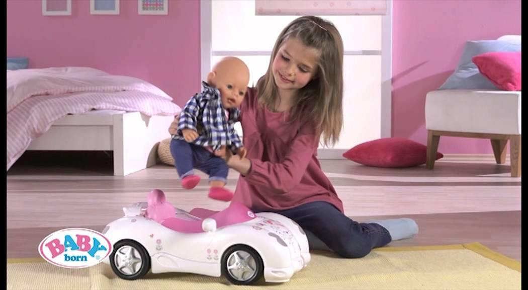 Baby Born 174 Interactive Cabriolet Youtube