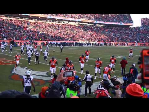 Denver Broncos VS Titans 2013 week 14 TD Julius Thomas