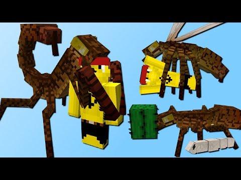 Gefährliche Insekten! (Züchten, riesiges Nest, Kampf) - Ice and Fire Mod